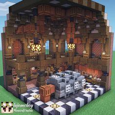Minecraft Castle, Minecraft Room, Minecraft Plans, Cool Minecraft Houses, Minecraft Blueprints, Minecraft Crafts, Minecraft Buildings, Minecraft Medieval House, Minecraft Interior Design
