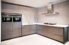 Design keuken in hoekopstelling
