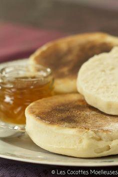 recette muffins anglais :: Et en français, en plus. Ça fait un moment que ça me titille, c'est sûr, ce WE, j'en fais!
