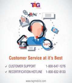 TAG Mobile Customer Care