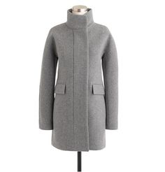 This pretty coat comes in multiple colors, and is made with a special blend of wool and nylon, inspired by