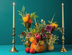 Centerpieces of Attention: Unique Thanksgiving Arrangements - Story by ModCloth