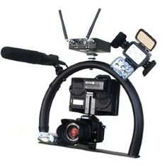 HaloRig MINI Video Camera Stabilizer Support Hand Held Halo Rig  $149.99