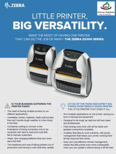 Retail Technology, Zebra Printer, Fast Print, Tough As Nails, Future Tech, Working Hard, Zebras, Tech News, Digital Prints