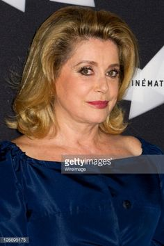 Catherine Deneuve attends the 'Le Sauvage' screening at la cinematheque on September 26, 2011 in Paris, France.