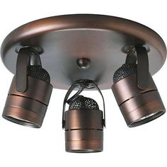 Other Lighting and Ceiling Fans 3201: Progress Lighting Directional Urban Bronze W 3 Light 50W New -> BUY IT NOW ONLY: $141.66 on eBay!