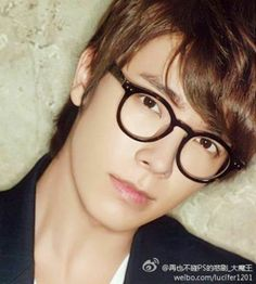 Lee Donghae - sexy/cute in glasses