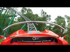 Busch Gardens Williamsburg: Verbolten This video does NOT do this coaster justice! The first coaster to ever to drop the entire track at the same time.  Losing altitude in the dark is totally unexpected!