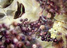 Fairy Paintings by Miharu Yokota   Showcase of Art & Design