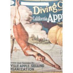 "Scarf ""Diving Girl Californian Apples"" by RUNDHOLZ - dagmarfischermode.de      #scarf #california #apples #rundholz #mainline #designer #german #fashion #germandesigner #style #stylish #styles #outfit #shopping #dagmarfischermode #shop #outfit #cool #lagenlook #oversize #mode #extravagant #germandesigner #spring #summer #hotsummer #springtime"