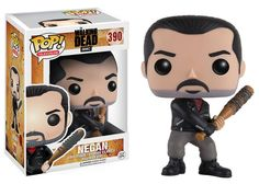 """Negan Walking Dead Funko Pop! Vinyl Figure THIS IS A PRE-ORDER. THIS ITEM WILL SHIP NOVEMBER 2016. """"Eeny, meeny, miny, moe."""" The merciless leader of the Saviors from AMC's The Walking Dead, is wieldin"""