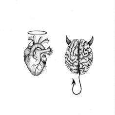 Art Sketchbook Drawing Artists – Art World 20 Pencil Art Drawings, Cool Art Drawings, Art Drawings Sketches, Tattoo Drawings, Doodle Tattoo, Arte Com Grey's Anatomy, Anatomy Art, Mini Tattoos, Small Tattoos