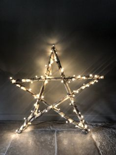 XXL Star, Wood, December, Christmas, Fairy Lights, Homedecor, Accessories Twinkle Lights, Twinkle Twinkle, Christmas Fairy, Fairy Lights, December, Chandelier, Ceiling Lights, Crafty, Stars