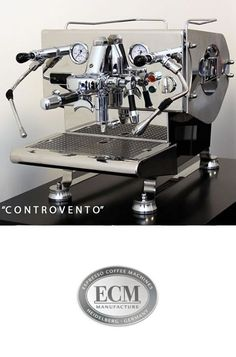 ECM Controvento Dual Boiler Coffee Machine