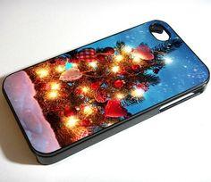 Snow Christmas Tree IPhone 6 Plus 6 5S 5C 5 4S 4