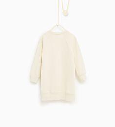 ZARA - KIDS - Long sweatshirt dress