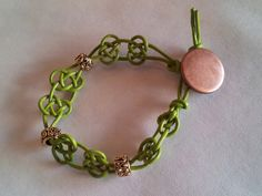 Celtic Knot Bracelet Tutorial