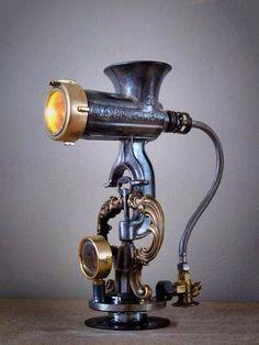 Resultado de imagen para meat grinder lamp