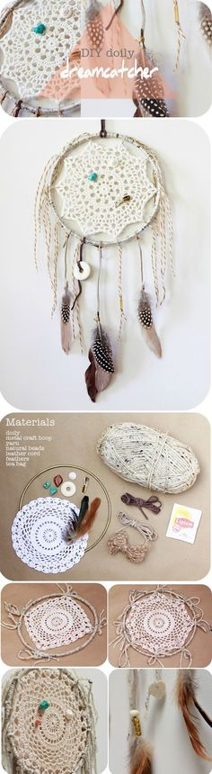 DIY dreamcatcher I really like this