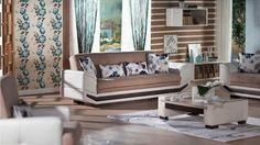 Dizayn Deluxe Living Room Set by Istikbal Furniture