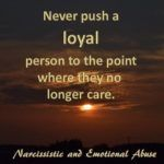 WHEN THE NARCISSIST IS LEFT ALONE. Life gives back to them exactly what they deserve, loneliness and isolation. Those who once cared are long gone.