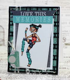 A World of Creative Possibilities: Kraftin' Kimmie Stamps : Wonderful Wednesday!