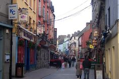 Galway, Ireland. Want to go here so bad.
