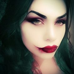 My female joker makeup, can't wait for comiccon 2017!