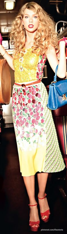 Taylor Swift ● Marc Jacobs Resort 2013 ● Glamour Magazine