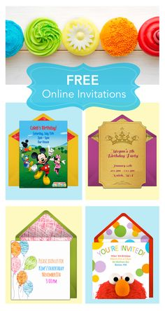 There's no easier way to send birthday invites than with Punchbowl. Online invitations, no matter what your theme, no matter how big your guest list. Never lick another envelope again.  http://www.punchbowl.com/disney/express/?utm_source=Pinterest&utm_medium=1.16P