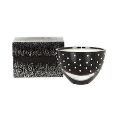 Star by Julien Macdonald Designer black glass diamante vanilla scented votive candle- at Debenhams.com
