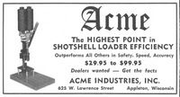 Acme Shotshell Loader 1958 Ad Picture