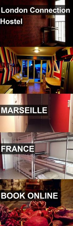 London Connection Hostel in Marseille, France. For more information, photos, reviews and best prices please follow the link. #France #Marseille #travel #vacation #hostel