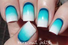 Ruffian gradient ~ More Nail Polish