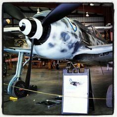 "German Focke-Wulf FW-190A: ""der Wuerger"" (""Butcher Bird"")."