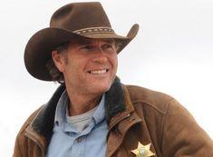 Australian actor Robert Taylor plays Wyoming Sheriff Walt Longmire in A's new Western.