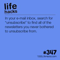Clean Up Your Email Inbox