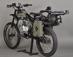 Zombie Survival Bike -------------------------------------------- You just never know! Lmaooo