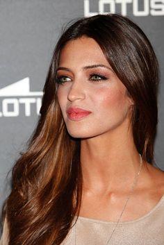 Detalle del look beauty de Sara Carbonero.