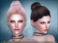 Braided bun for ladies  Found in TSR Category 'Sims 4 Female Hairstyles'