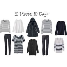 10 Pieces 10 Days, now double that with another color combination and your are set!