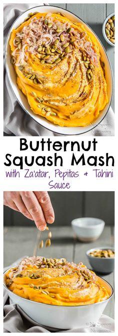 Seriously Creamy Butternut Squash Mash with Za'atar, Pepitas, Shallots ...