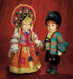 Many Wonderful Things : 91 Italian Cloth Russian Boy,Model 300/48,by Lenci