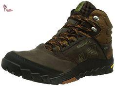Merrell Ridgepass Bolt, Chaussures de Randonnée Basses Homme, Gris (Granite/Red Ochre), 45 EU