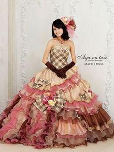 dball ~ dress ballgown Tartan Wedding Dress, Colored Wedding Dresses, Beautiful Costumes, Beautiful Gowns, Vintage Gowns, Fantasy Dress, Ball Gown Dresses, Quinceanera Dresses, Dress Brands