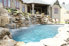 in ground pool ideas for small yards - Google Search