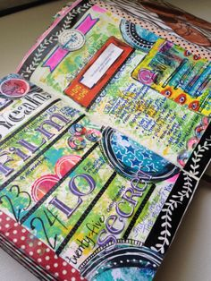 Planner Pages - Week 17 Sandi Keene