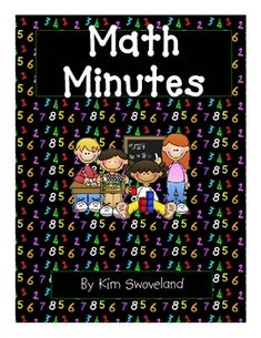 This easy-to-use math supplement is perfect to fill those few extra minutes we sometimes have throughout the day!  There are 50 quick and easy math...