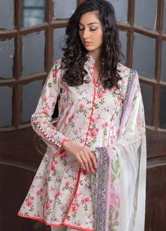 Buy Malhar Lawn Printed Bamboo Summer 2019 Collection Printed Lawn Unstitched 3 Piece Suit from Sanaulla Store - Original Products. Latest Pakistani Dresses, Pakistani Fashion Casual, Pakistani Dress Design, Pakistani Outfits, Stylish Dresses For Girls, Stylish Dress Designs, Short Frocks, Gown Party Wear, Shalwar Kameez