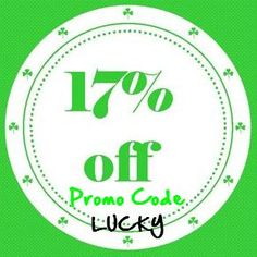 17% off entire purchase through 3/17 with promo code!! #ritzyglitzybaby